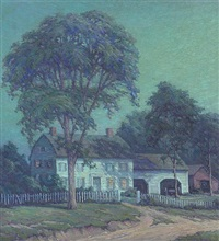 august night by arthur gibbes burton