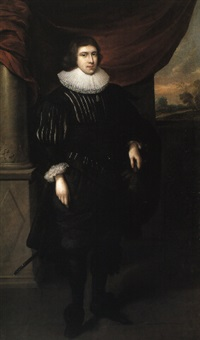 portrait of a nobleman (charles stuart?) by abraham van blyenbergh