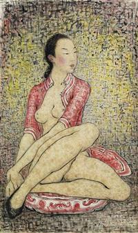 the dreamer by pan yuliang