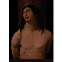 saint sebastian by altobello meloni
