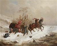 an unsuccessful sledge ride by wenzel kroupa