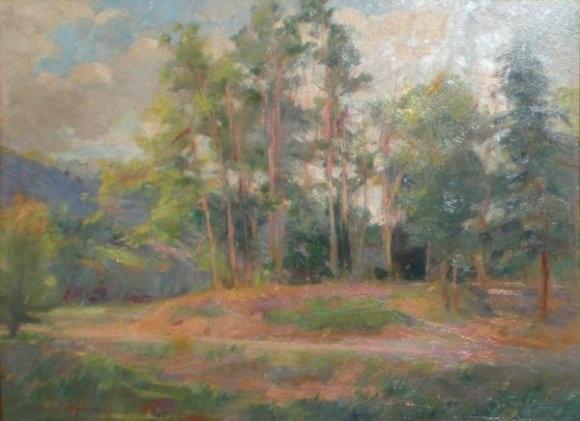 chemin dans la forêt by louis azema