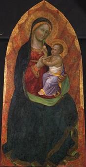 vierge à l'enfant by giuliano da simone