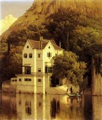 villa sul lago by fulvia bisi