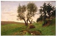 chemin à la lisière du bois by antoine chintreuil