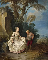 a courtship in the park by german school (18)