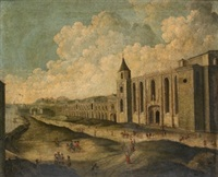 arquitecturas y arrabales (4 works) by viviano codazzi