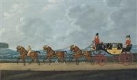 princess charlotte's state landau, driven by mr mainwaring by john cordrey