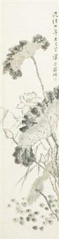 花卉 by jiang que