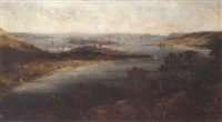 view of cork harbour by george atkinson