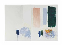 they never appeared with the white by joan mitchell