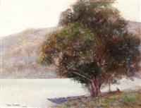 lac de nemy (italie) by victor charreton