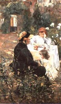 le gouter dans le jardin by julie delance-feurgard