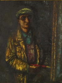 self portrait by mordechai ardon