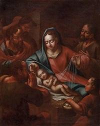 die anbetung des christuskindes durch die hirten by austrian school (17)