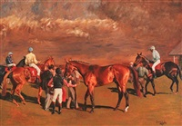 after the race, newmarket by adriana zaefferer