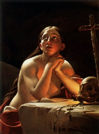 the penitent magdalen by jan tysievicz