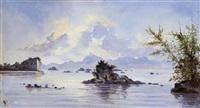 baía de guanabara vista de icaraí - niterói by joaquim insley pacheco