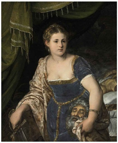 judith with the head of holofernes by lambert sustris