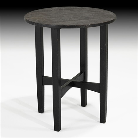 lamp table by gustav stickley