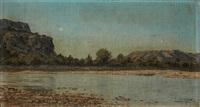 paysage méditerranéen by paul camille guigou