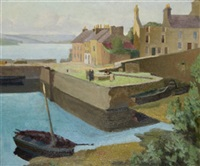 roundstone harbour by romeo charles toogood