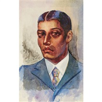 portrait of a black gentleman by dox thrash