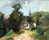 la chapelle en bretagne by joseph le tessier