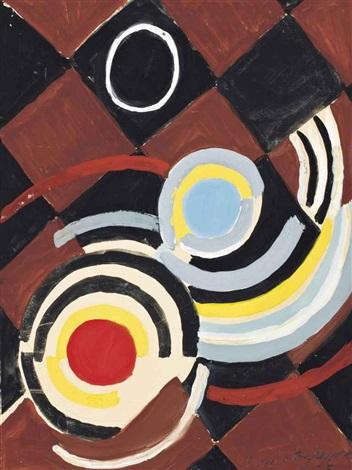 rythme coloré by sonia delaunay terk