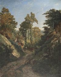 promenade dans les collines by vincent joseph françois courdouan