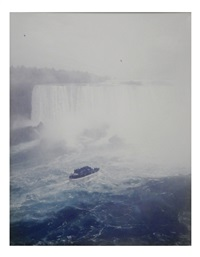 niagra falls by andreas gursky
