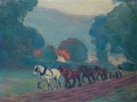 The Four-Horse Team, 1906