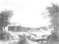 scène d'intérieur de paysans by alexandre paul joseph veron