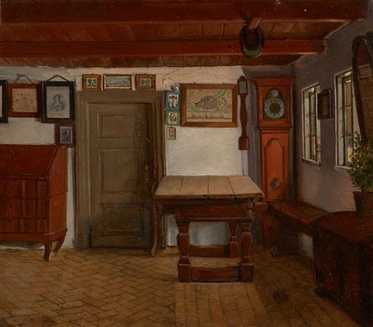 Intérieur de maison à Valeröd by Hans Jørgen Hammer on artnet