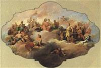 die olympischen götter auf dem parnass by tito agujari