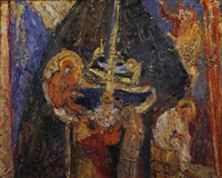 christi geburt (kappadokien) by hans andreas