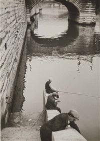 pont saint-michel by andré kertész