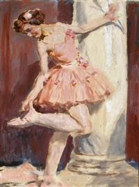ballerine au tutu rose by auguste leroux