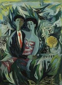 le couple by pierre de berroeta