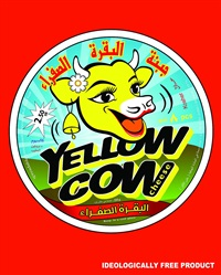 yellow cow cheese (red) by ahmed mater