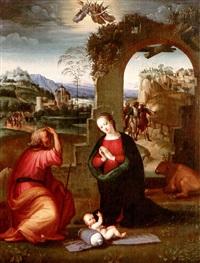nativity by tommaso di stefano lunetti