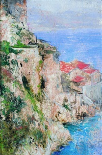 coast of italy by mariano fortuny y de madrazo