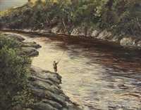 the general's rock, river orchy by william ellis barrington-browne