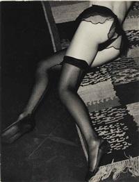 lingerie, for diana slip, c. 1933 by brassaï
