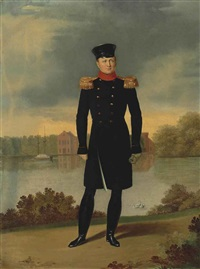 portrait of tsar alexander i (1777-1825) by george dawe