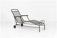 chaise longue by jean prouvé and jules leleu