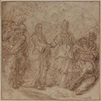 la rencontre de moïse et aaron by jean-baptiste corneille
