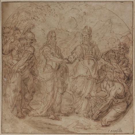 la rencontre de moïse et aaron by jean baptiste corneille