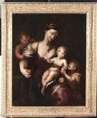 madonna con il bambino by domenico piola