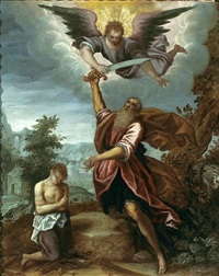 the sacrifice of isaac by gaspard rem